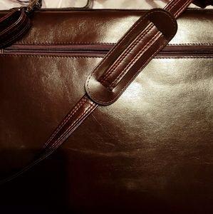 Vintage Bugatti office bag